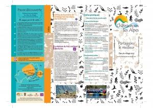 Plan du village de Chateauroux-Les-Alpes recto