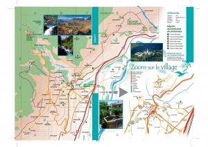 Plan du village de Chateauroux-Les-Alpes verso