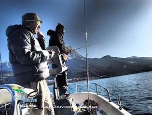 photo peche lac de serre poncon - crédit la Fédé de Pêche