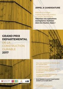 CAUE_Affiche_Grand prix de la construction durable