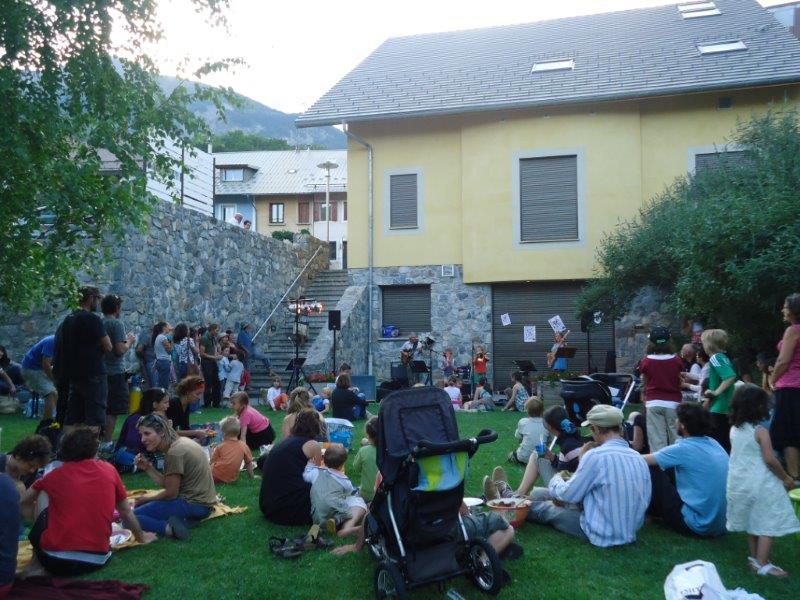 fete de la musique à Châteauroux Les Alpes organisée par l'association Octopus